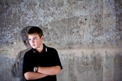 детеныши портрета мальчика подростковые Стоковое Изображение