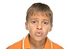 детеныши портрета мальчика Стоковая Фотография