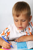 детеныши портрета мальчика Стоковая Фотография RF