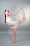 детеныши портрета ballerin Стоковая Фотография