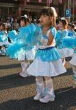 детеныши празднества танцоров детей японские Стоковая Фотография RF