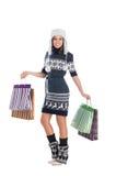 детеныши привлекательной девушки одежд родние Стоковое фото RF