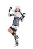 детеныши привлекательной девушки одежд родние Стоковая Фотография