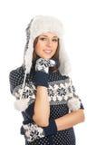 детеныши привлекательной девушки одежд скандинавские Стоковая Фотография