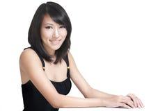 детеныши привлекательной милой девушки японские сладостные Стоковые Фото