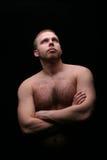 детеныши привлекательных людей мышечные Стоковые Изображения