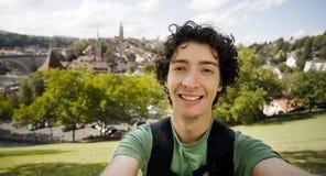 детеныши путешественника bern Швейцарии Стоковая Фотография