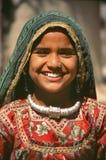 детеныши Раджастхана девушки стоковое фото