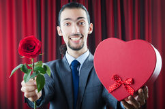 детеныши розы человека стоковое фото rf