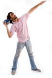 детеныши рэгби человека шарика Стоковая Фотография