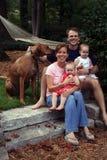 детеныши семьи Стоковое Изображение RF