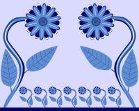 детеныши сирени цветка семьи Стоковые Изображения