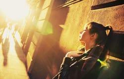 детеныши солнца красотки стоковое изображение