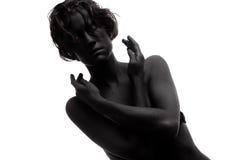 детеныши способа женские модельные стоковое изображение