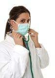 детеныши стетоскопа доктора Стоковое Фото