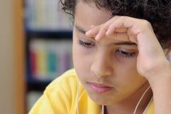 детеныши студента мальчика Стоковое фото RF