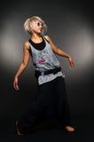 детеныши танцора вскользь одежд Стоковое фото RF