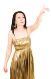 детеныши указывая женщины руки Стоковое Изображение RF
