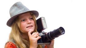 детеныши фотографа Стоковые Фото