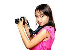 детеныши фотографа стоковое изображение rf