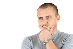 детеныши человека думая Стоковая Фотография RF