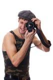 детеныши человека камеры Стоковая Фотография RF