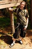 детеныши человека пущи Стоковое фото RF