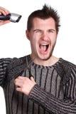детеныши человека стрижки половинные Стоковые Фотографии RF