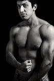 детеныши человека тела мышечные грубые стоковое изображение