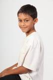 детеныши этнического счастливого портрета мальчика ся Стоковые Изображения RF