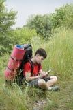 детеныши hiker Стоковые Изображения