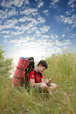 детеныши hiker Стоковые Фото