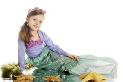 детеныши mermaid красотки Стоковые Изображения RF