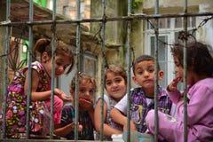 Дети беженца в Турции стоковые фото
