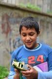 Дети беженца в Турции стоковая фотография