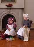 дети викторианские Стоковое фото RF