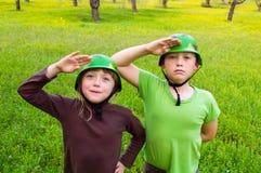 Дети воинские Стоковые Изображения