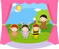 Дети выполняют Стоковая Фотография