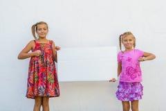 Дети выражая хорошую работу Стоковые Изображения
