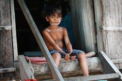 Дети в деревне Стоковые Фотографии RF