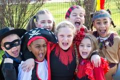 Дети в костюмах Стоковое фото RF