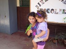 Дети в Никарагуа Стоковое Изображение RF