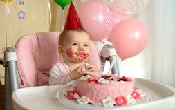 Дети дня рождения маленькие стоковые изображения