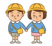 Дети детского сада Стоковые Фотографии RF