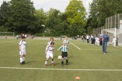 Дети играть BSC SChwalbach Стоковое фото RF