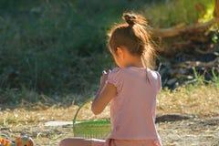 Дети играют в середине утра Стоковая Фотография RF