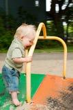 дети идут веселый круг s Стоковая Фотография RF