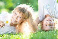 Дети имея потеху Стоковая Фотография RF