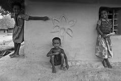 дети индийские стоковые фотографии rf