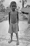 дети Индия недостаточно питающийся стоковая фотография rf
